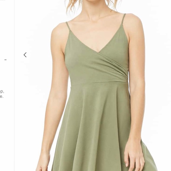 Forever 21 Dresses & Skirts - Surplice Fit and Flare Cam Dress
